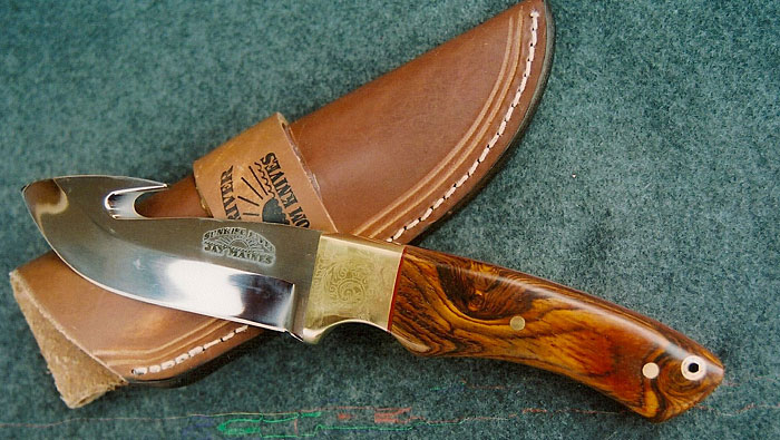 Exotic Woods Available Sunrise River Custom Knives